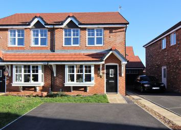 Thumbnail 3 bed semi-detached house for sale in Tallington Close, Thornton-Cleveleys