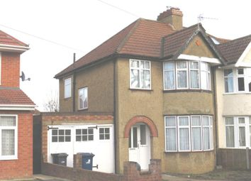 Thumbnail 3 bedroom semi-detached house to rent in Eastcote Avenue, Greenford