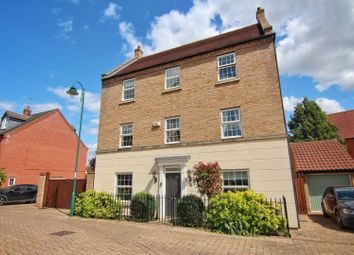 Thumbnail 4 bed detached house for sale in Knighton Close, Hampton Vale