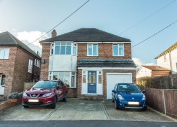 Thumbnail 4 bed detached house for sale in Meadow Road, Earley, Reading