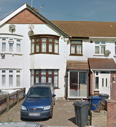 Thumbnail 3 bed terraced house to rent in Somerset Road, Southall