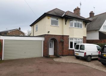 Thumbnail 3 bed detached house for sale in Greenhill Road, Coalville