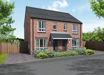 Thumbnail 2 bedroom semi-detached house for sale in Plot 25 Needwood, The Meadows, Hill Ridware, Rugeley