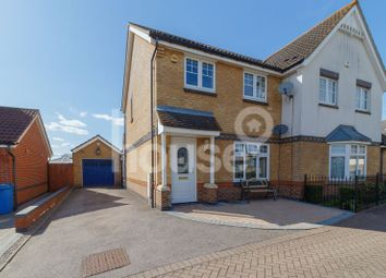 Thumbnail 3 bed semi-detached house for sale in Power Station Road, Minster On Sea, Sheerness