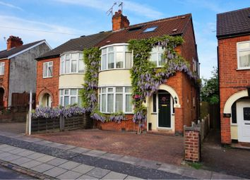 Thumbnail 4 bed semi-detached house for sale in Brian Road, Leicester