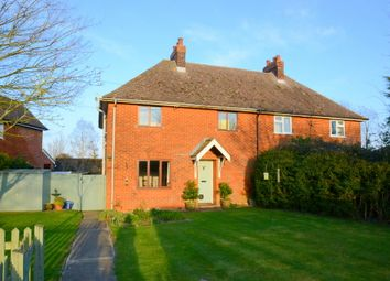 Thumbnail 3 bed semi-detached house for sale in Gedding Hill, Gedding, Bury St. Edmunds