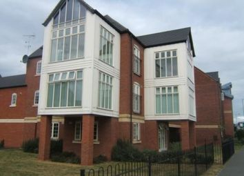 Thumbnail 2 bed flat for sale in Evershed Way, Burton-On-Trent, Staffordshire
