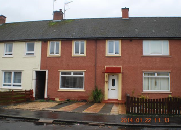 Thumbnail 3 bed terraced house to rent in Park Crescent, Sauchie
