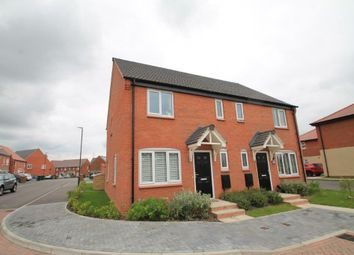 Thumbnail 3 bed semi-detached house for sale in Bampton Close, Boulton Moor, Derby