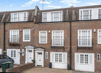 Thumbnail 4 bed town house to rent in Marston Close, Swiss Cottage