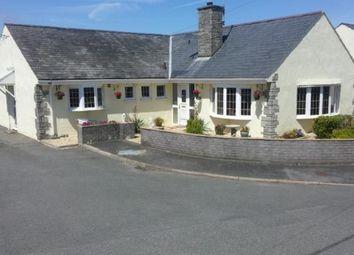 Thumbnail 4 bed bungalow for sale in Pengwern Estate, Efailnewydd, Pwllheli, Gwynedd