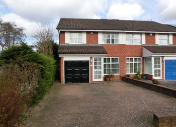 Thumbnail 3 bed semi-detached house for sale in Lillington Road, Shirley, Solihull