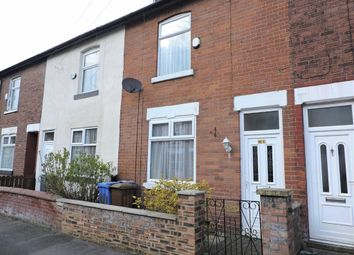 Thumbnail 2 bed terraced house for sale in Watts Street, Levenshulme, Manchester