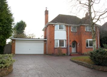 Thumbnail 3 bed detached house to rent in Shaw Lane, Stoke Prior, Bromsgrove