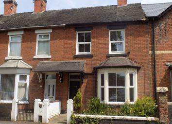 Thumbnail 4 bed terraced house to rent in Corporation Street, Stafford