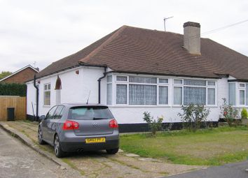 Thumbnail 2 bed semi-detached bungalow to rent in Cedar Close, Swanley