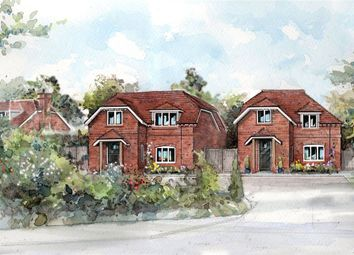 Thumbnail 4 bedroom detached house for sale in Deacons Lane, Hermitage, Thatcham, Berkshire