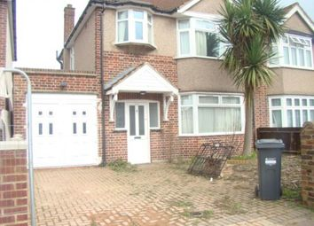 Thumbnail 3 bed semi-detached house to rent in Shelley Crescent, Heston