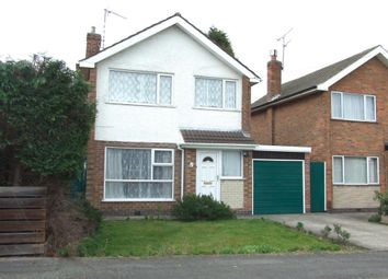 Thumbnail 3 bed detached house to rent in Hillside Crescent, Spondon, Derby