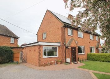 Thumbnail 4 bed semi-detached house for sale in School Avenue, Salford Priors, Evesham