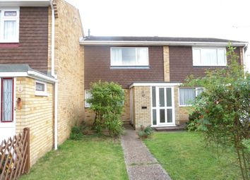 Thumbnail 2 bed terraced house to rent in Thorpe Walk, Rainham, Gillingham
