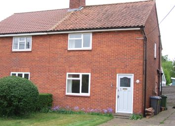 Thumbnail 2 bed semi-detached house for sale in Great Glemham Road, Stratford St Andrew, Saxmundham, Suffolk
