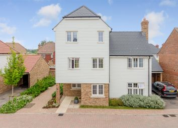 Thumbnail 4 bed detached house for sale in Song Thrush Drive, Finberry, Ashford