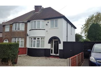 Thumbnail 3 bedroom semi-detached house for sale in Winchester Road, Wolverhampton