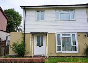 Thumbnail 3 bed semi-detached house for sale in Upwell Road, Luton
