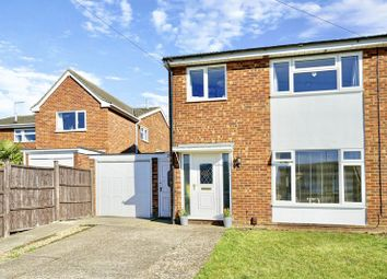 Thumbnail 3 bed semi-detached house for sale in Andrew Road, Eynesbury, St. Neots
