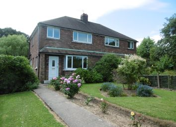 Thumbnail 3 bed semi-detached house for sale in 4 Church Lane, Clayworth, Retford, Nottinghamshire