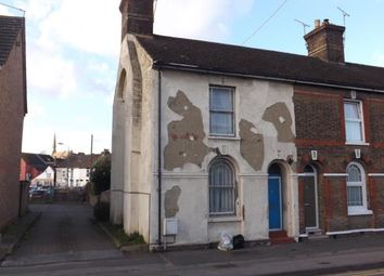 Thumbnail 3 bed end terrace house for sale in Station Road, Rochester, Kent