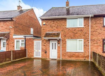 Thumbnail 2 bed semi-detached house for sale in Gadsby Avenue, Wednesfield, Wolverhampton