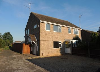 Thumbnail 3 bed semi-detached house to rent in Jubilee Walk, Wisbech