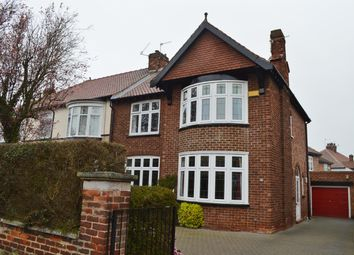 Thumbnail 3 bedroom semi-detached house for sale in Thackeray Grove, Linthorpe, Middlesbrough