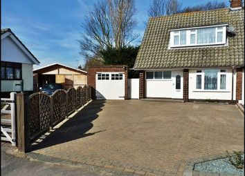 Thumbnail 4 bed semi-detached house for sale in Graham Close, Hockley, Essex