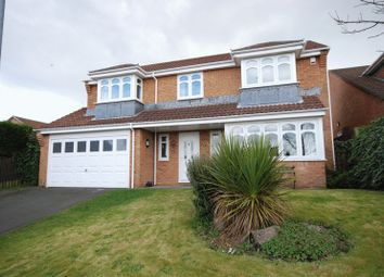 Thumbnail 5 bed detached house for sale in Ferndown Court, Ryton
