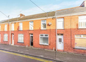 Thumbnail 4 bedroom terraced house for sale in Wigan Terrace, Bryncethin, Bridgend