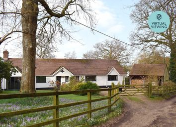 Thumbnail 4 bed detached bungalow for sale in Lower Densome Wood, Woodgreen, Fordingbridge