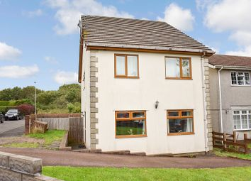 Thumbnail 4 bed detached house for sale in Mervyn Way, Pencoed, Bridgend .