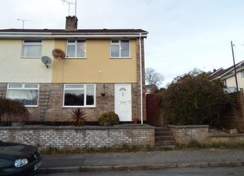 Thumbnail 3 bed semi-detached house for sale in St. Blazey, Par, Cornwall