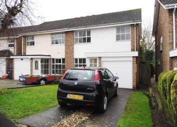 Thumbnail 3 bed semi-detached house for sale in Eastley Crescent, Warwick