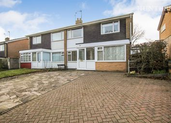 Thumbnail 3 bed semi-detached house for sale in Gallowstree Lane, Newcastle