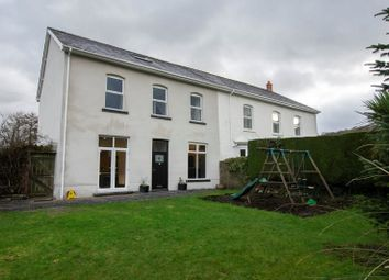 Thumbnail 5 bed semi-detached house for sale in Glanrhyd Road, Ystradgynlais, Swansea, City And County Of Swansea.