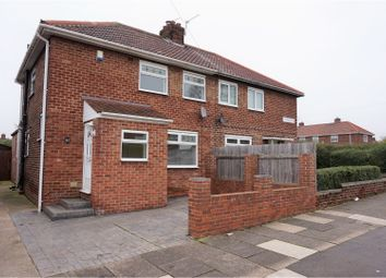 Thumbnail 2 bedroom semi-detached house for sale in Ampleforth Road, Berwick Hills, Middlesbrough