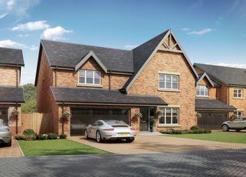 Thumbnail 5 bed detached house for sale in Medburn Park, Medburn, Newcastle Upon Tyne