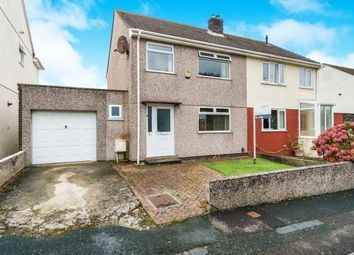 Thumbnail 3 bed semi-detached house for sale in Plymouth, Devon
