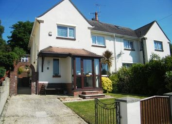 Thumbnail 3 bed semi-detached house for sale in Central Avenue, Parkstone, Poole