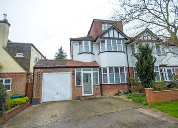 Thumbnail 5 bed semi-detached house for sale in Egerton Close, Pinner