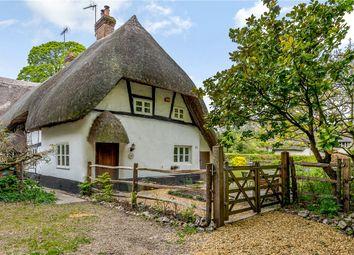 Thumbnail 3 bed cottage for sale in Brockhurst Cottages, Salisbury Lane, Over Wallop, Stockbridge